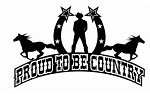 Proud to Be Country v3 Decal Sticker