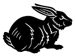 Rabbit Decal Sticker