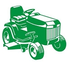 Riding Lawn Mower Decal Sticker