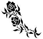 Rose v2 Decal Sticker