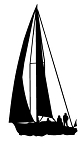 Sailboat v1 Decal Sticker