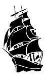 Sailing Ship Decal Sticker