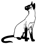 Siamese Cat Decal Sticker