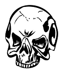 Skull v12 Decal Sticker