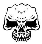 Skull v13 Decal Sticker