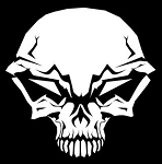 Skull v14 Decal Sticker