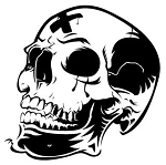 Skull v4 Decal Sticker
