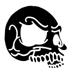 Skull v7 Decal Sticker