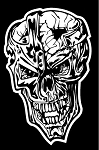 Skull v8 Decal Sticker