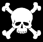 Skull and Crossbones v3 Decal Sticker