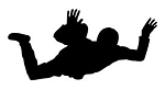 Sky Diver v1 Decal Sticker