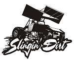 Slingin Dirt - Sprint Car Decal Sticker