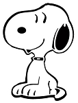 Snoopy v2 Decal Sticker
