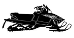 Snowmobile v11 Decal Sticker