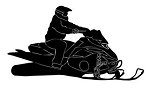 Snowmobile v4 Decal Sticker