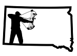 South Dakota Bowhunter v1 Decal Sticker