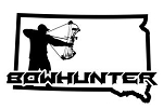 South Dakota Bowhunter v3 Decal Sticker