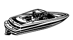 Speedboat v2 Decal Sticker