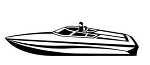 Speedboat v3 Decal Sticker