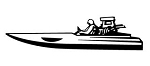 Speedboat v4 Decal Sticker