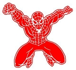 Spiderman v1 Decal Sticker