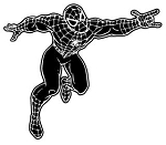 Spiderman v2 Decal Sticker