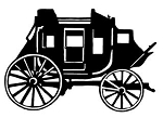Stage Coach Decal Sticker