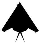 Stealth Fighter Jet Decal Sticker