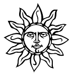 Sun v1 Decal Sticker