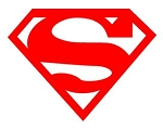 Superman v1 Decal Sticker
