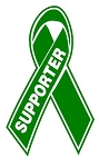 Supporter Ribbon Decal Sticker