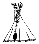 Teepee v1 Decal Sticker