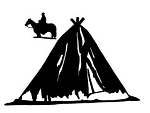 Teepee v2 Decal Sticker
