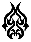 Tribal Design v32 Decal Sticker