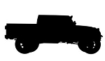 Truck Silhouette v1 Decal Sticker