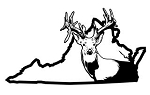 Virginia Deer Hunting v2 Decal Sticker