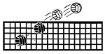 Volleyball and Net v1 Decal Sticker