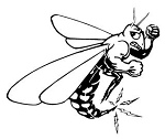 Wasp Decal Sticker