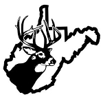 West Virginia Deer Hunting Decal Sticker