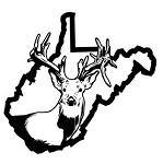 West Virginia Deer Hunting v2 Decal Sticker
