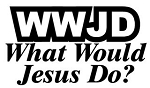 What Would Jesus Do Decal Sticker