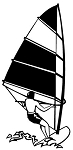 Windsurfer v1 Decal Sticker
