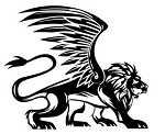 Winged Lion v1 Decal Sticker