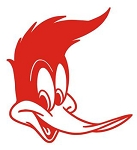 Woody Woodpecker v12 Decal Sticker