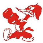 Woody Woodpecker v15 Decal Sticker