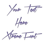 Xtreme Font Decal Sticker