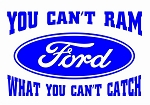 You Can't Ram Ford Decal Sticker