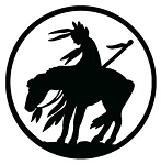 Young Warrior on Horse Decal Sticker