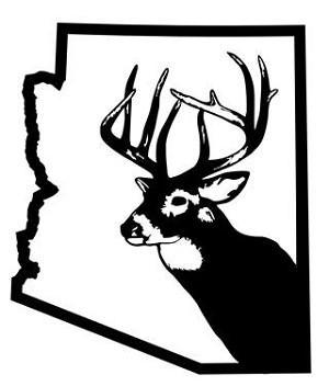 Arizona Deer Hunting Decal Sticker