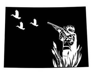 Colorado Duck Hunting Decal Sticker